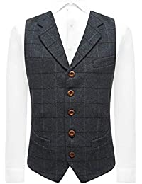 1d0d61449c Amazon.co.uk: King & Priory - Waistcoats / Suits & Blazers: Clothing