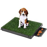 EBTOOLS - Inodoro para Mascotas, 3 Capas, Esterilla para Mascotas, con Bandeja para el Entrenamiento del baño de Perros, 60 x 48 x 6 cm