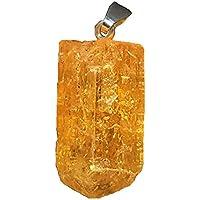 KRIO® - Goldtopas Imperialtopas Topas Anhänger mit Silberschlaufe preisvergleich bei billige-tabletten.eu