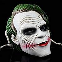 Mascara De Halloween Resina Terror Horror Payaso Cara De Pelo Largo