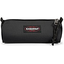Eastpak Benchmark Single Estuche para lápices, 21 cm, Negro (Black)