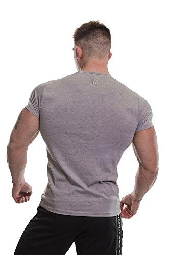 Gold's Gym - Maglietta sportiva -  uomo Grey