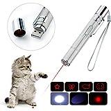 BiuCat 7 in 1 USB LED Pointer Interaktives Spielzeug für Katzen Hund Haustier...