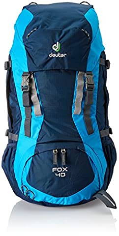 Deuter Kinder Rucksack Fox, midnight-turquoise, 68 x 30 x 24 cm, 40 Liter, 3608333060
