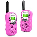 Kids Walkie Talkies Long Range 3-5km Built-in Torch 446MHz Walky Talky Christmas Toys