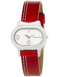 Fastrack Analog White Dial Women's Watch - NE2394SL01