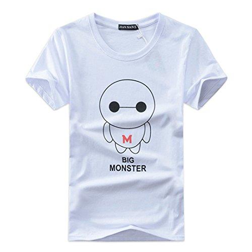 Men's sleeve O-neck hip hop Tee hombre T-shirt 41
