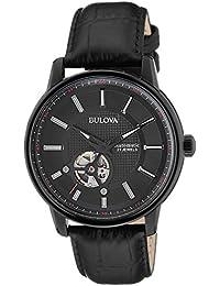 Bulova Automatic Analog Black Dial Men's Watch - 98A139