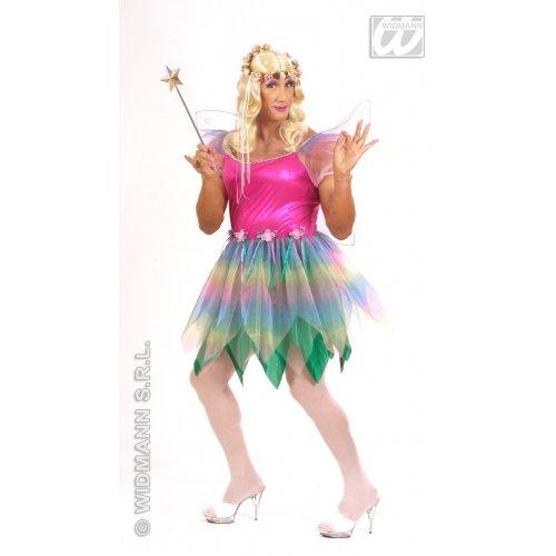 -Kostüm für Erwachsene Fee der Regenbogen, mehrfarbig, XL ()