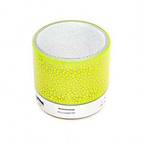 Bluetooth-Lautsprecher - Mini Crack mit Subwoofer-Plug-in-Bluetooth-Lautsprecher (Farbe : Gelb) Aba Bluetooth