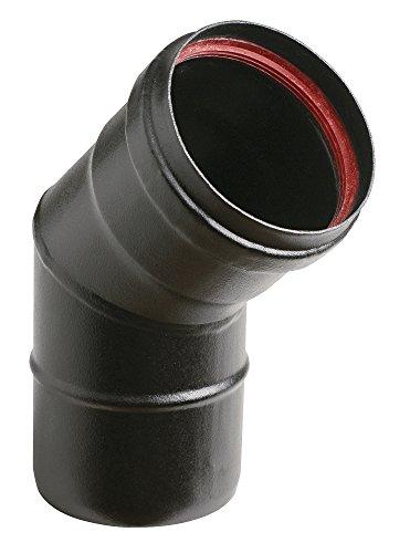 Ala2mm aeternum pellet y40200150268 canale da fumo porcellanato, nero