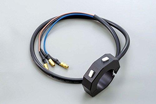 Preisvergleich Produktbild DAYTONA Externer CNC Schalter mit 2 Taster f. z.B. DAYTONA VELONA Instrumente oder als Universaltaster, schwarz, 7 / 8'