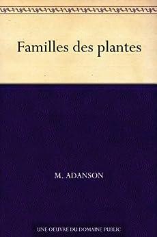 Familles des plantes