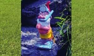 Nain comme plongeurs 37 cm 155 figurine plastique