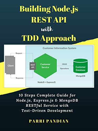 Building Node.js REST API with TDD Approach: 10 Steps Complete Guide for Node.js, Express.js & MongoDB RESTful Service with Test-Driven Development (English Edition) por Parri Pandian