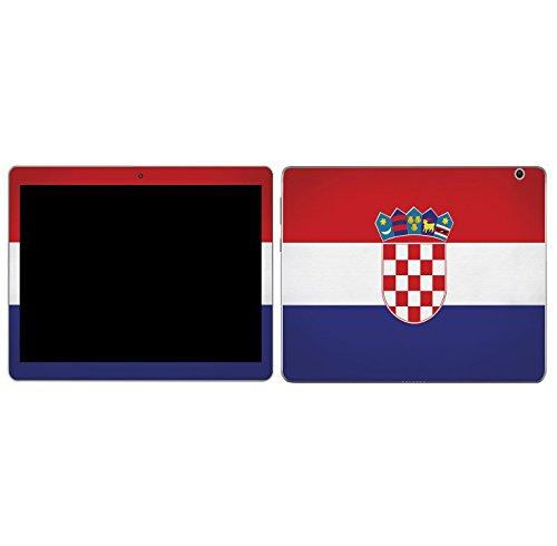 Preisvergleich Produktbild Huawei Mediapd M3 Lite 8.0 Tablet Design Schutzfolie Designfolie Skin Faceplates Schutz Folie Motiv Kroatien (Herstellung in Deuschland )