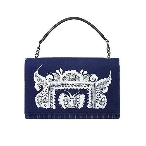 RJW Original-Handtasche/Altmodische Handgemachte Batik-Tuch/Hand/Schulter/Messenger Packet/Kulturelle Und Kreative Geschenk Elegant -