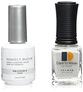 Le Chat Perfect Match Led-Uv Gel Polish Kits - Complete A-Z Collection, On Cloud 9 by LeChat Perfect Match