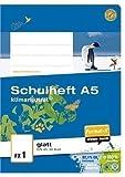 Format-X 060520 10 FX 1 Schulheft DIN A5, Pure Impact, 80 g/qm, glatt premiumweiß