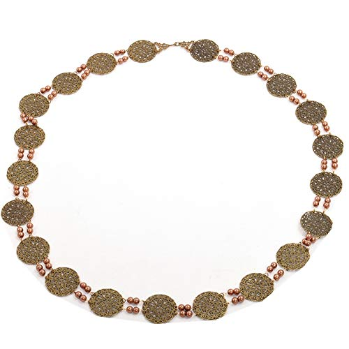 GRACEART Tudors Kette von Büro Livree Halsband Halskette