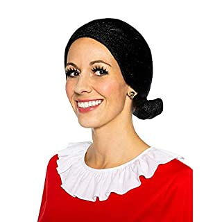 Maskworld Olivia Öl – die Freundin von Popeye – Perücke zum Original-Kostüm für Erwachsene