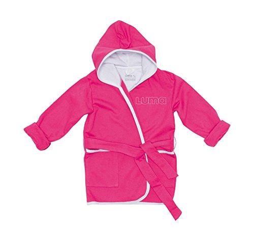 LUMA asistencia para los niños L01604 albornoz rosa magenta