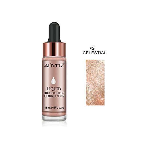 Iluminador líquido, maquillaje facial crema, brillo