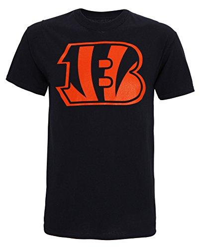 Offizielle NFL Cincinnati Bengals Logo-T-Shirt Black
