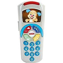 Fisher-Price - Mando a distancia de perrito, juguetes bebé 6 meses, versión castellana (Mattel DLD35)