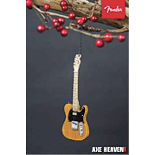 Axe Heaven Holiday Ornament Fender 6 50s Blonde Telecaster