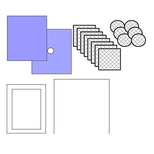 60x Medidrapes Wund-Abdeck-Set, Wundversorgung, 18-teilig, Tücher, Kompressen