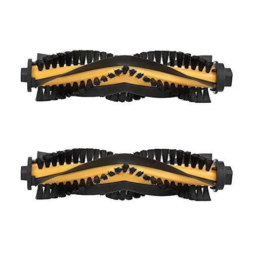 MIRTUX Kit de 2 cepillos centrales para Conga Excellence 990. Pack de Rodillo Cepillo Central aspiradora Robot cecotec Conga. Accesorios y Repuesto Conga.