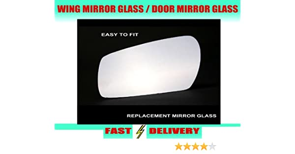 FIAT 500 2007-2012 ELECTRIC PRIMED DOOR WING MIRROR RH RIGHT O//S DRIVER SIDE OFF