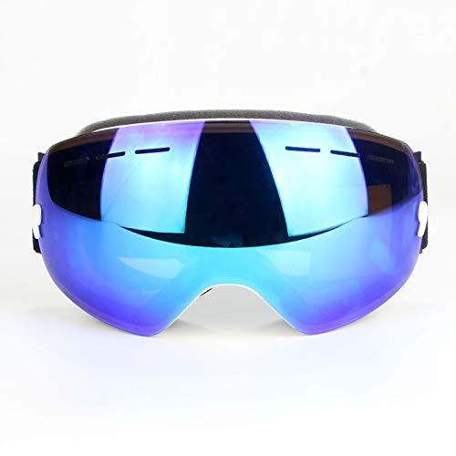 Daesar Sportbrille Outdoor Sicherheitsbrille Brillenträger Skibrille Brillenträger Blau