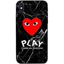 Fashion CDG Loving eyes Soft Case PLAY iphone XS iphone Xr/XS MAX phone case for sale