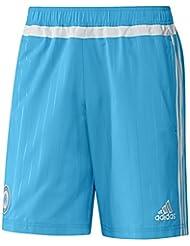 Adidas OM WOV SHO % 2F bleu Short homme Blanc