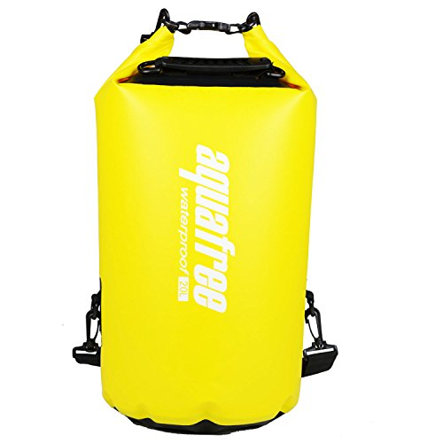 Aquafree Dry Bag, 100% impermeabile, ideale per nuove avventure, nuotare, kayak, vela, rafting, nuoto, cenare all'aperto, snowboard, sci, sacca per la scuola,ect