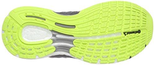 adidas  Supernova Sequence, Running femme Gris - Grau (Vista Grey S15/Flash Lime F15/Solar Orange)