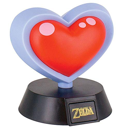 Nintendo Zelda - Lampada da Tavolo a Forma di Cuore
