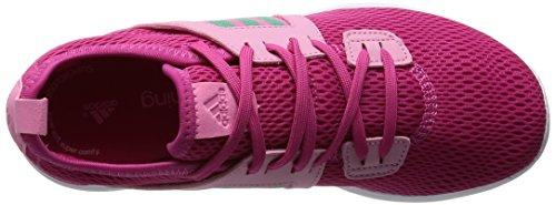 adidas Durama W, Chaussures de Running Entrainement Femme, Rose, 38.5 EU Multicolore (Pink / Grey - EQTROS/BRIVER/SEBRRO)