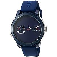 Tommy Hilfiger Denim Analogue Blue Dial Men's Watch - 1791325