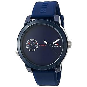 Tommy Hilfiger Denim Analogue Round Blue Dial Men's Watch – 1791325 Best Online Shopping Store