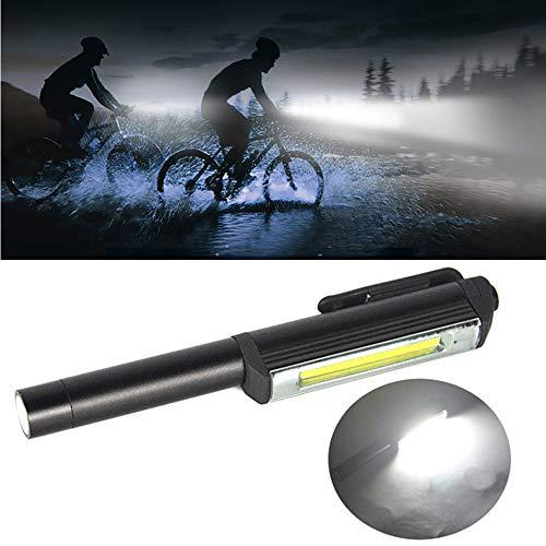 serliy Superhelle COB LED Pocket Pen Lichtinspektion Arbeitslicht Taschenlampe mit Clip