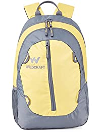 Wiki Daypack 30 Ltrs Sayak Yellow Casual Backpack (8903338042204)