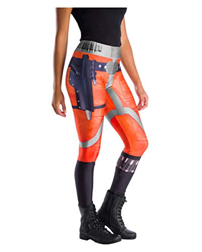 Horror-Shop Original Star Wars Leggings X-Wing Fighter Pilot für Fasching & Motto Party One Size (Star Wars Leggings)