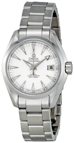 Omega 231.10.30.20.02.001 - Reloj de pulsera mujer, acero inoxidable