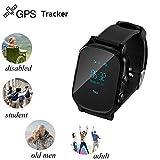 winnes Smartwatch, GPS + Libras + WiFi Triple Positioning Wear con SIM Card para Activity Tracker, calorías, sueño, Llamadas, SMS, Facebook, Whatsapp.t58