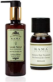 Kama Ayurveda Lavender Patchouli Hair Cleanser (Shampoo) with Pure Essential Oils of Lavender and Patchouli 20
