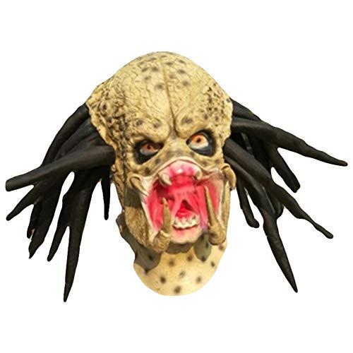 WETERS Halloween Erwachsene Latex Maske Horror Science Fiction Beast Kopf Abdeckung Variation Bugs Monster COS ()