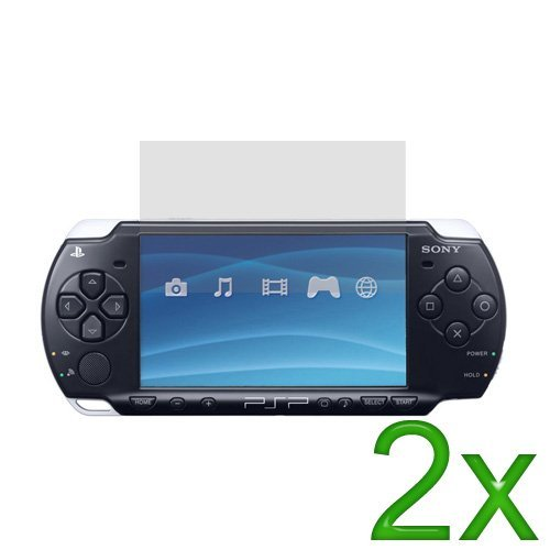 GTMax Gt Max 2x Clear Lcd Screen Protector For Sony Psp